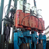 Sheet pile pressing machine DCP 4-ram Push Pull